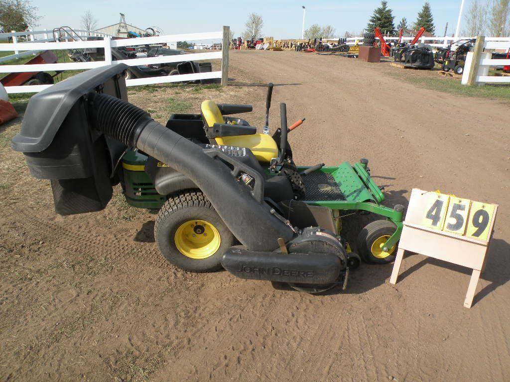 John Deere 425 w/power flow bagger and wt kit From estate