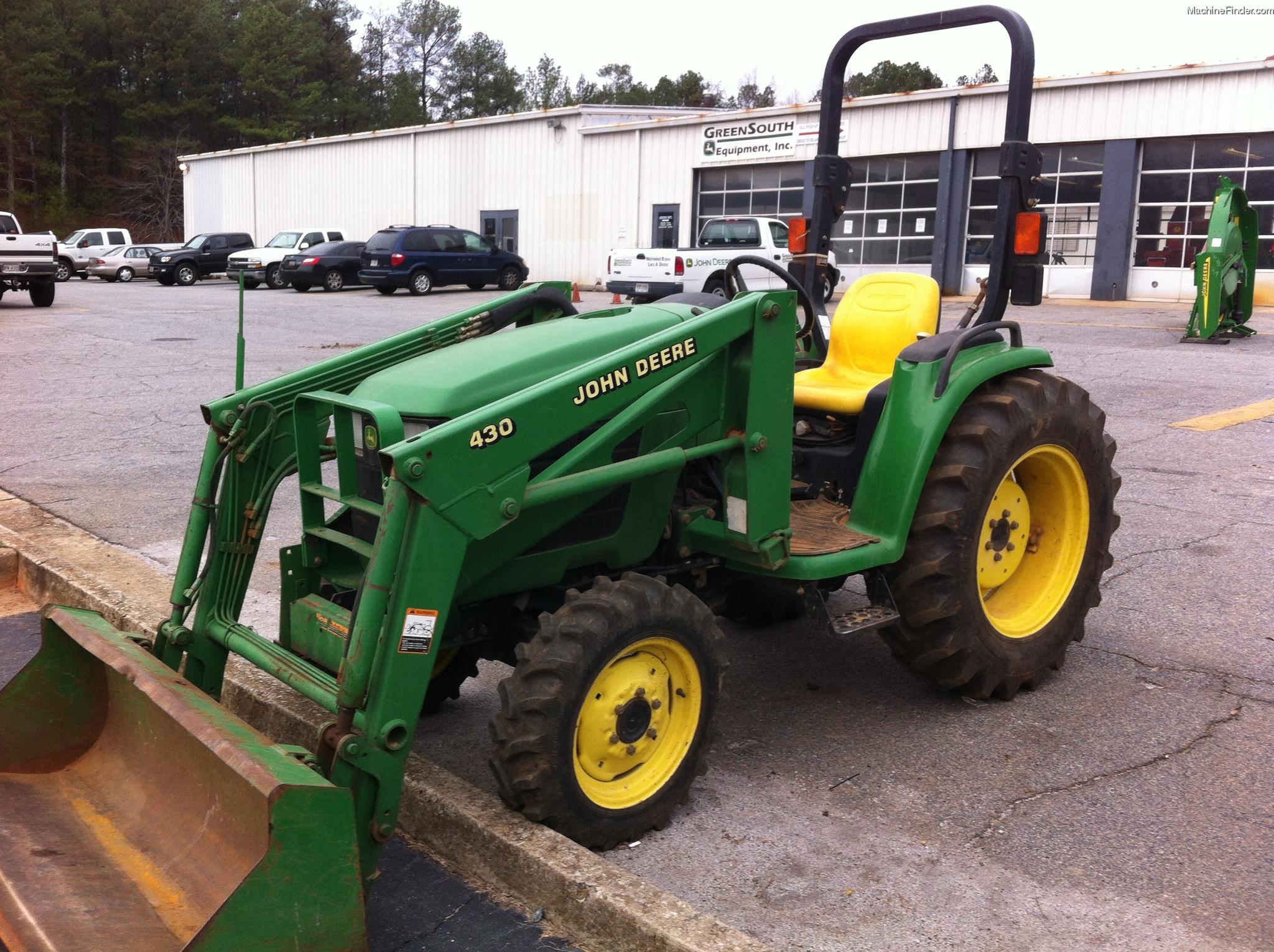 2005 John Deere 4410 Tractors - Compact (1-40hp.) - John ...