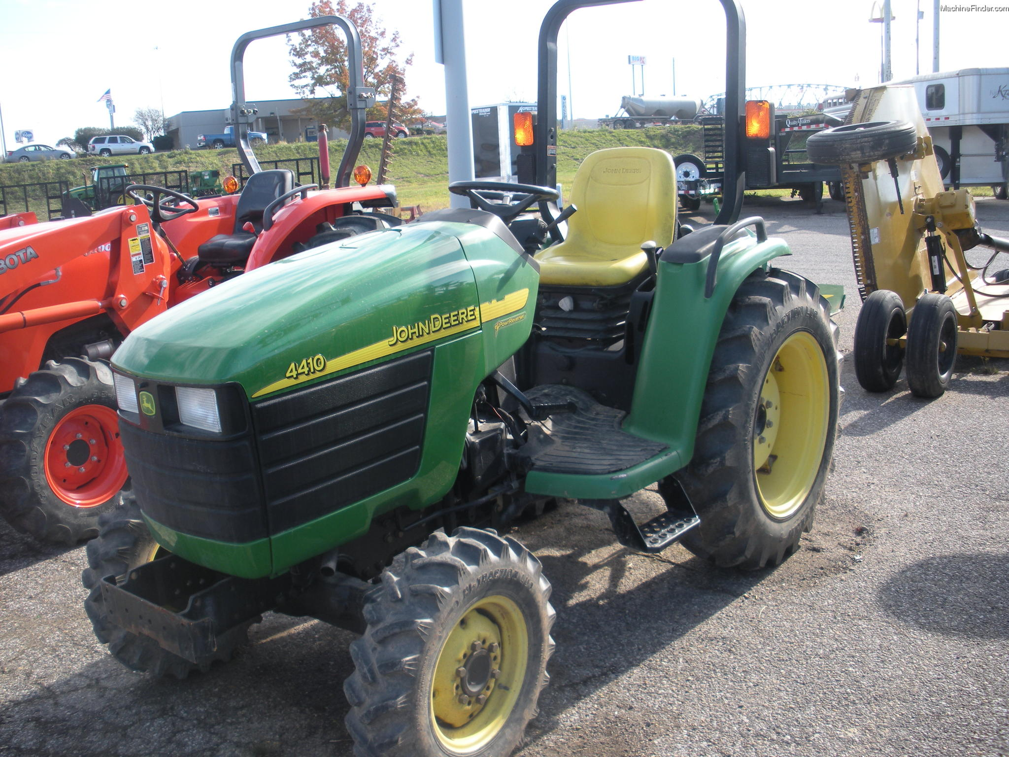 2002 John Deere 4410 Tractors - Compact (1-40hp.) - John ...