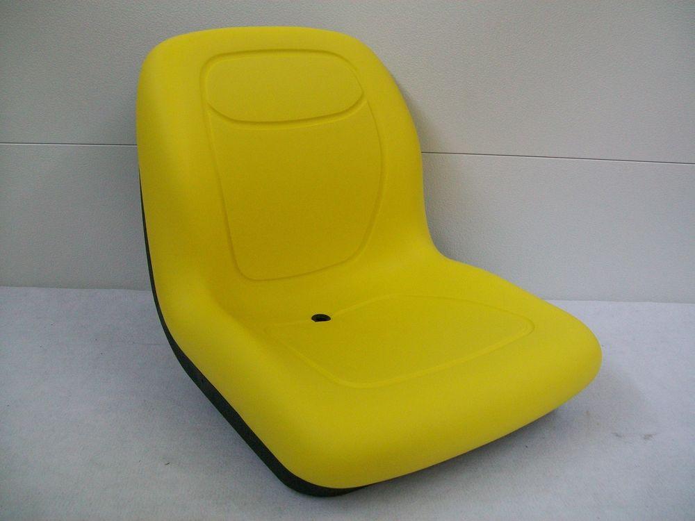 YELLOW SEAT FOR JOHN DEERE ZERO TURN MOWER Z TRAK, M653 ...
