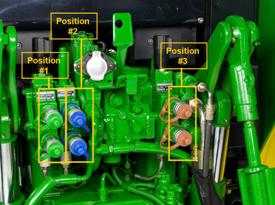 Hydraulics, rear selective control valves (SCVs)