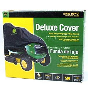 Amazon.com : John Deere Lawn Tractor Deluxe Medium Cover ...