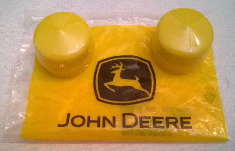 NEW JOHN DEERE FRONT WHEEL HUB CAPS L120 LX255 LX277 LX279 ...
