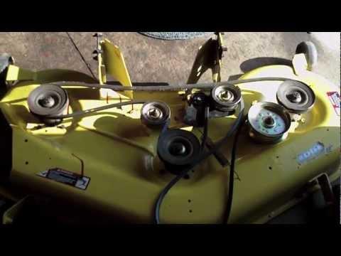 John Deere L120- Valve adjustment and push rod replacement ...