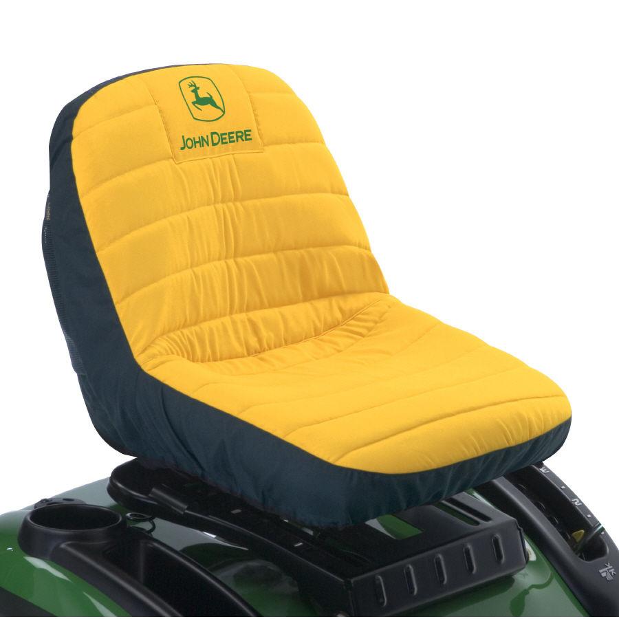 John Deere Seat Cover LA110 LA120 LA125 LA135 Mower MED   eBay