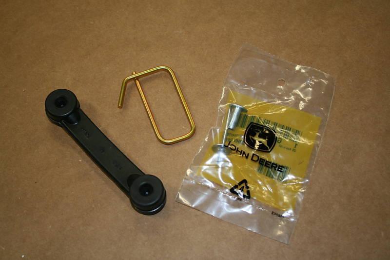 John Deere Mulch Cover Strap Kit Bungie, Hook, & Rivet New ...