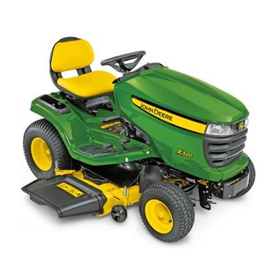 John Deere X320 Mulching Tractor (48 inch deck with free ...