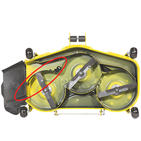 John Deere Mulch Control for 54-inch Accel Deep Mower Deck ...