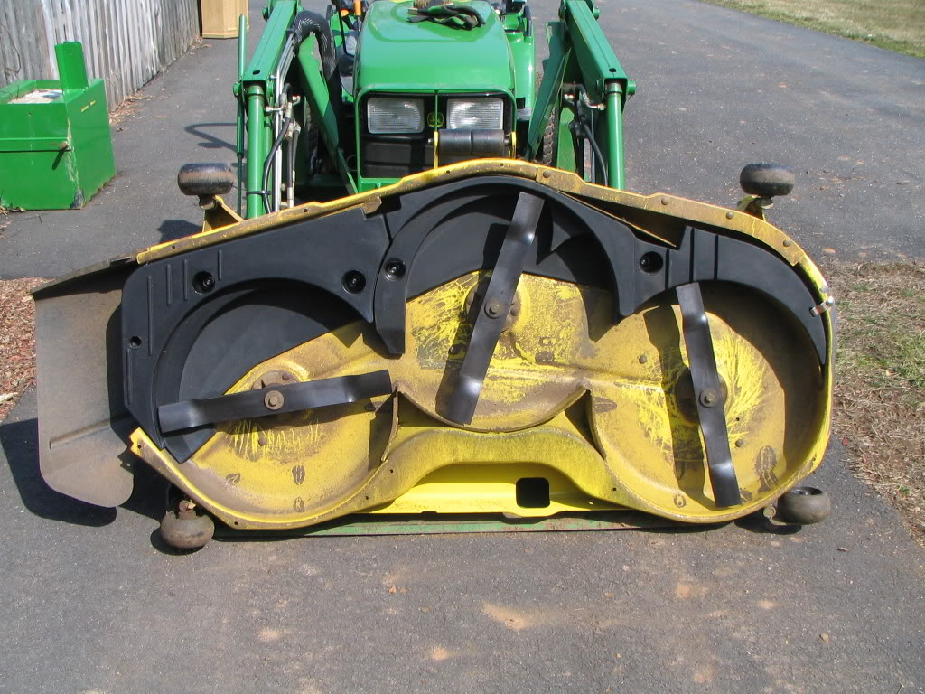JD Mulching Kit - Page 2 - MyTractorForum.com - The ...