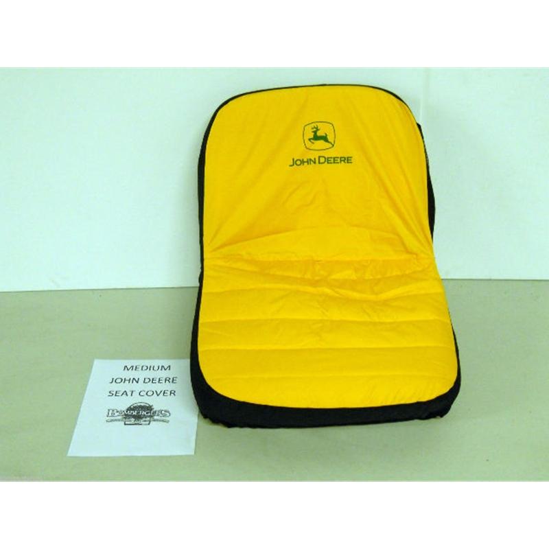 John Deere Lawn Mower & Gator Seat Cover MED 15 Seats LP92324