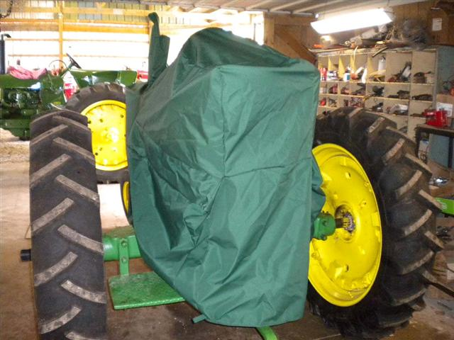 Green Tractor cover for John Deere Tractors for sale
