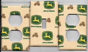 John Deere Tan Light Switch Cover and Electrical Outlet ...