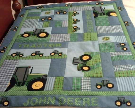 John Deere Barn Quilt John Deere Quilt Kit John Deere ...
