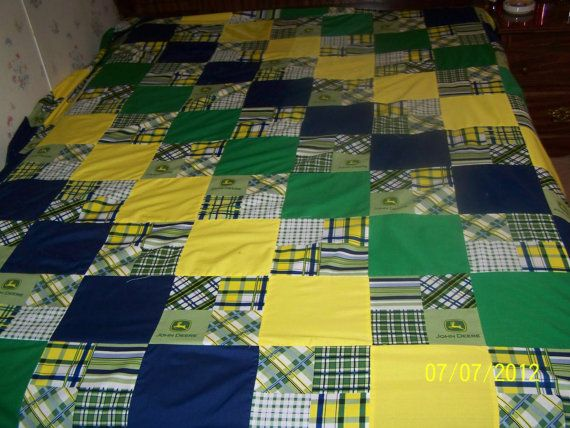 John Deere Quilt | Etsy and Sandwiches