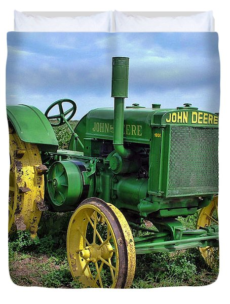 John Deere Tractor Hdr Photograph by Ken Smith