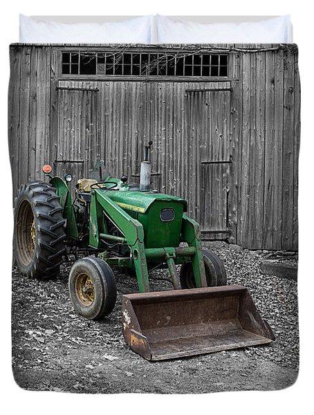 Old John Deere Tractor Photograph by Edward Fielding