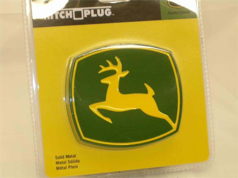 John Deere Full Color Hitch Plug Receiver Cover