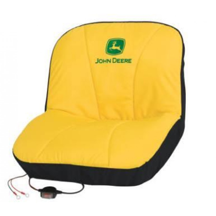 John Deere Heated Seat Cover | RunGreen.com