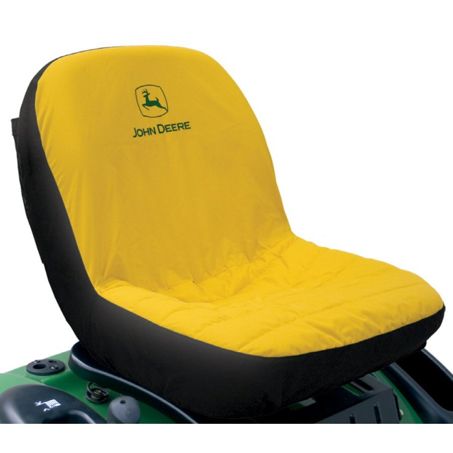 John Deere Mid-Back Seat Cover for Riding Mowers | Lowe's ...
