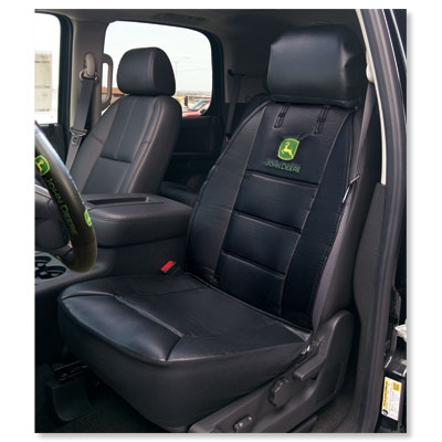 John Deere Sideless Car Seat Covers | WeGotGreen.com
