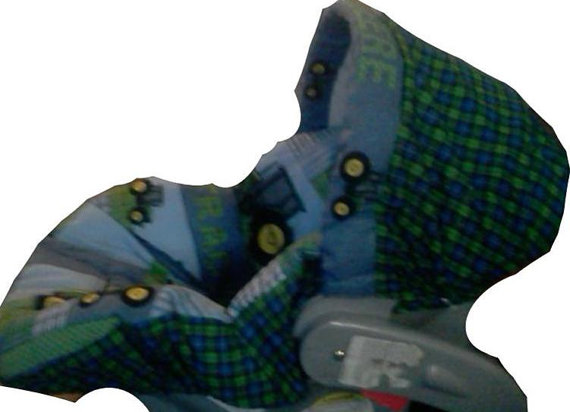 Infant Car Seat Cover John Deere Patch UNIVERSAL FIT by ...