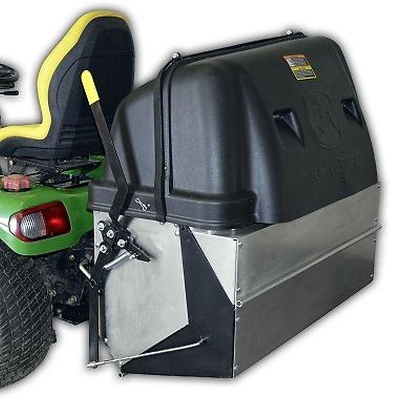 John Deere 14BU -DUMP FROM SEAT MCS Bagging Attachment ...