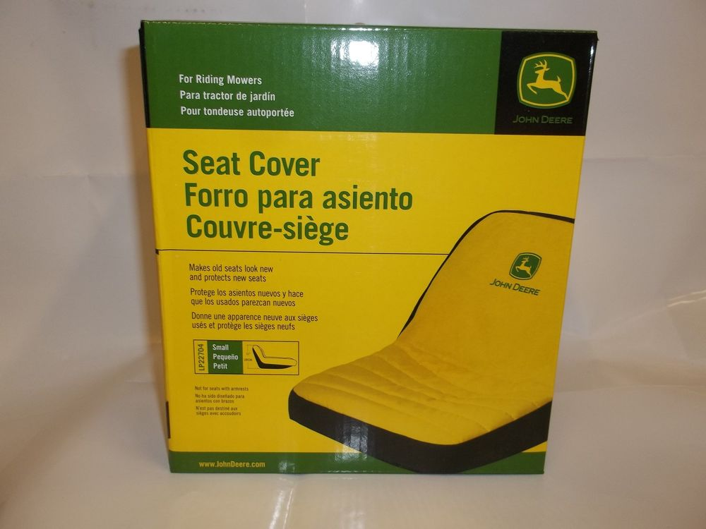 NEW JOHN DEERE SMALL SEAT COVER FOR SEATS WITH 11in BACK ...