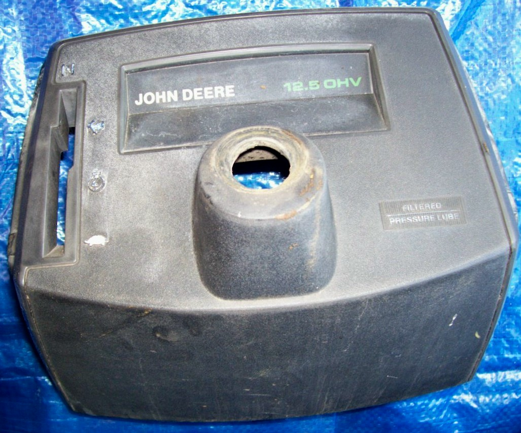 John Deere STX 38 Used Dash Cover [AM116044] - $15.00 ...