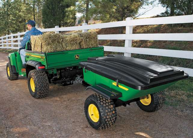 10 AT Utility Cart Trailer, Hitches, Winches Gator Utility ...
