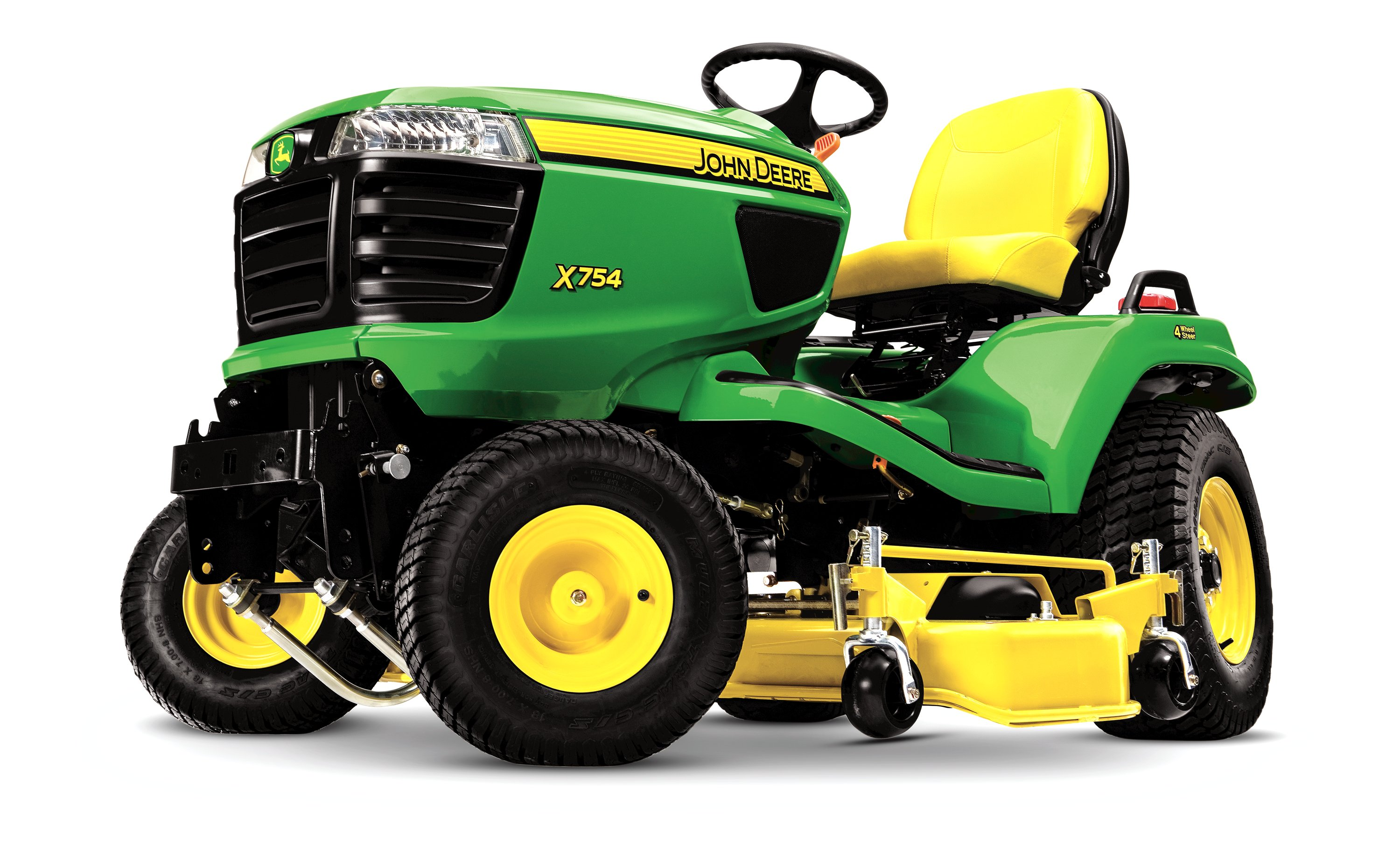 John Deere launches new X700 diesel lawn tractors | Pitchcare