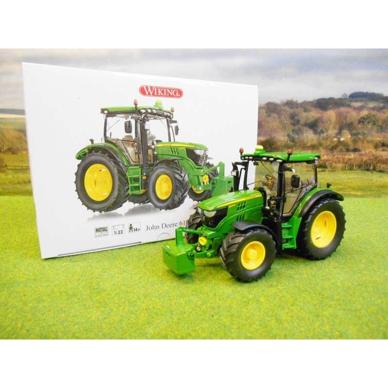 WIKING 1:32 JOHN DEERE 6125R TRACTOR - One32 Farm toys and ...