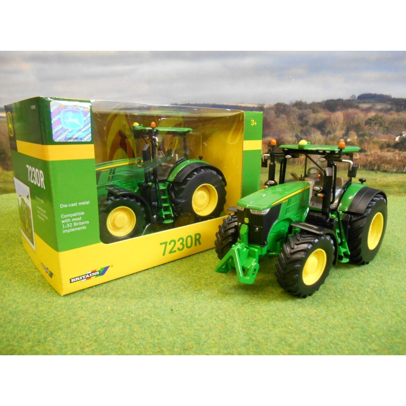 BRITAINS 1:32 JOHN DEERE 7230R 4WD TRACTOR - One32 Farm ...
