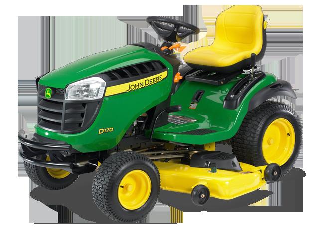 John Deere D170 D100 Series Lawn Tractors Riding Lawn ...