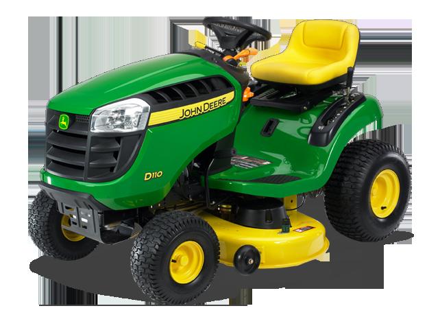 John Deere D110 D100 Series Lawn Tractors Riding Lawn ...