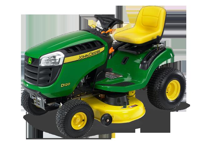 John Deere D120 D100 Series Lawn Tractors Riding Lawn ...