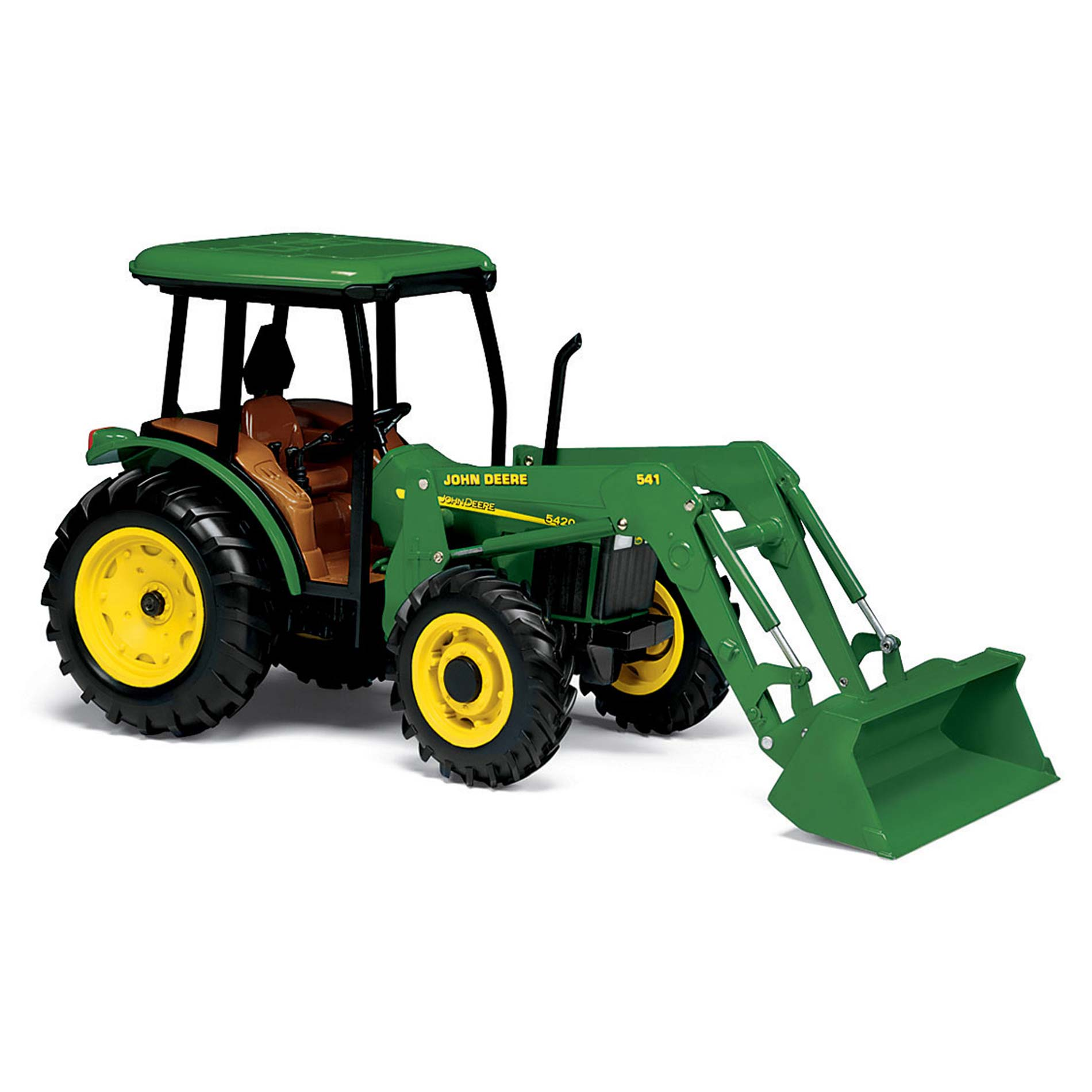 Tomy 15357N Steel Make John Deere 1:16 5420 Tractors Toy ...