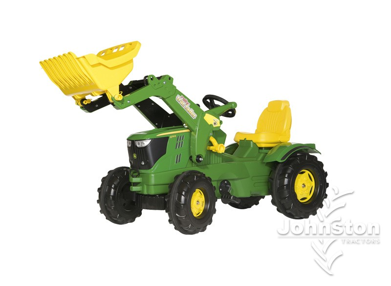John Deere Pedal Tractor 6210R with loader MCR611096000 ...