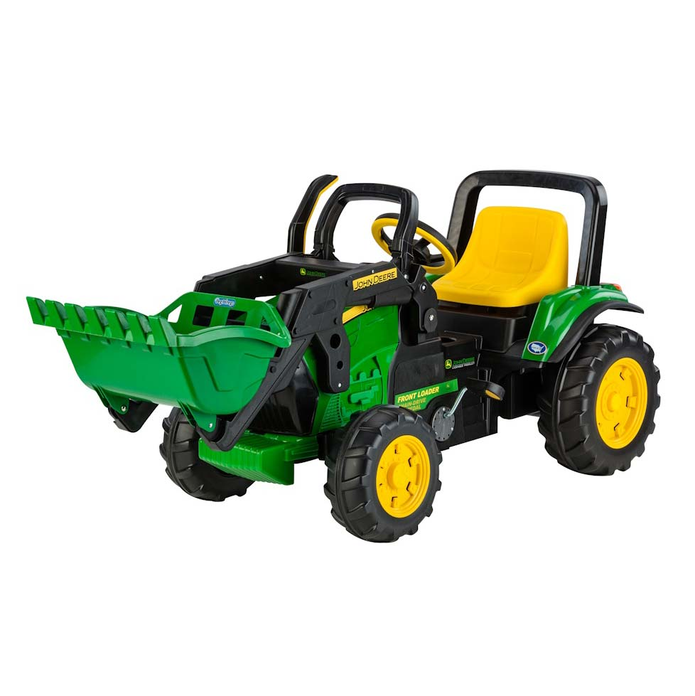 John Deere Peg Perego Pedal Tractor with Loader