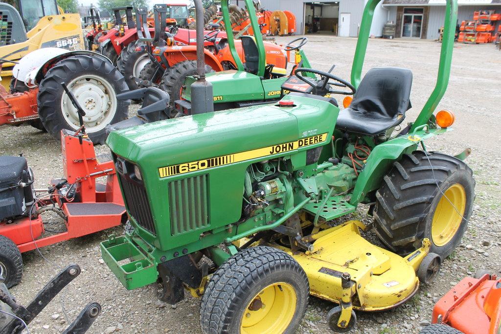 John Deere 650 Compact Tractor - Ricer Equipment, Inc.