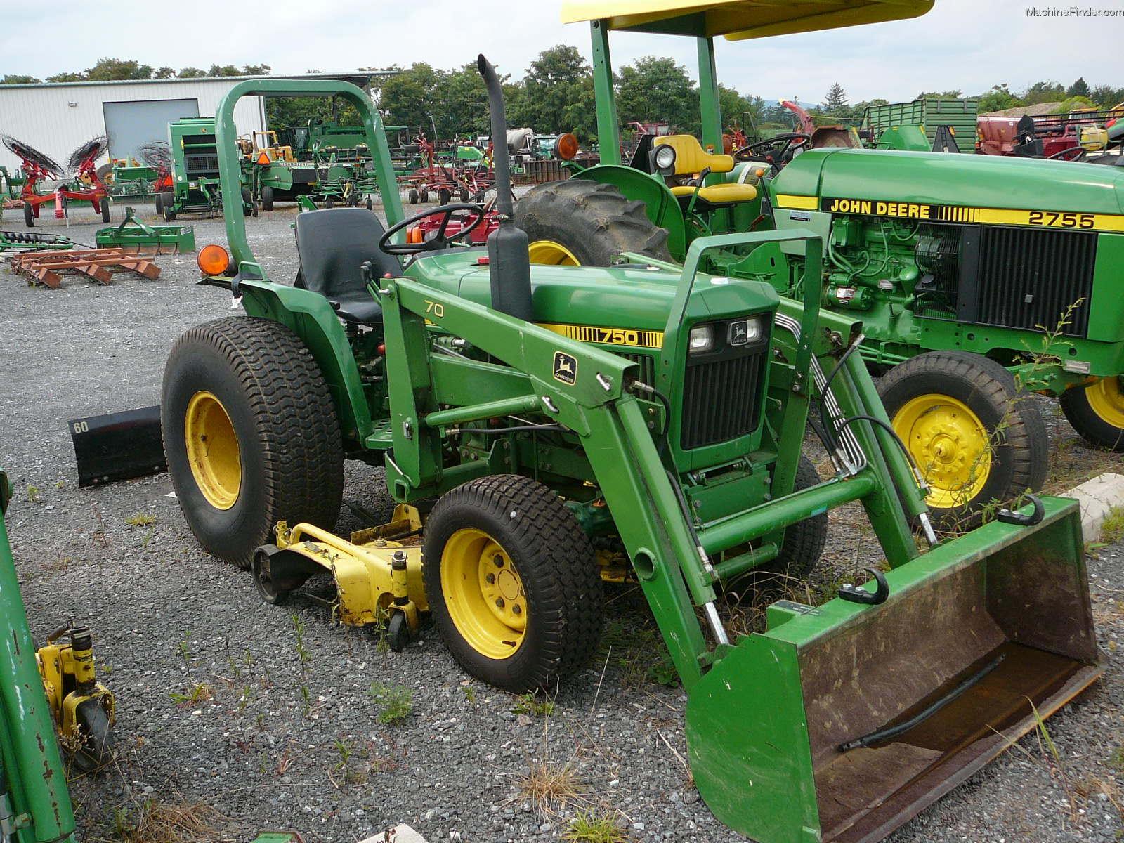 1986 John Deere 750 Tractors - Compact (1-40hp.) - John ...