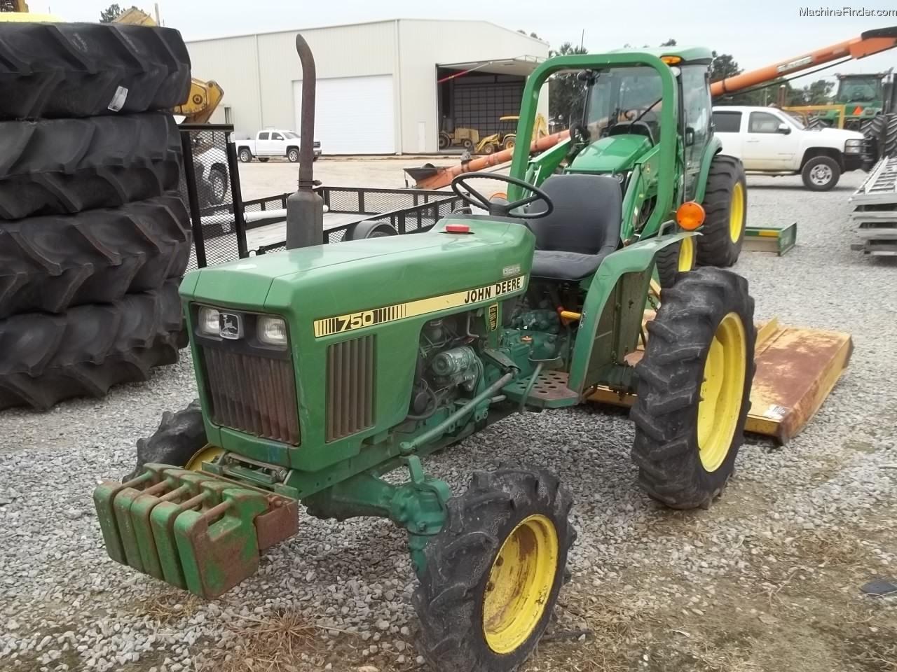 John Deere 750 Tractors - Compact (1-40hp.) - John Deere ...