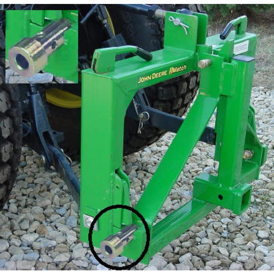John Deere Quick Hitch Adapter Bushing Kit | RunGreen.com