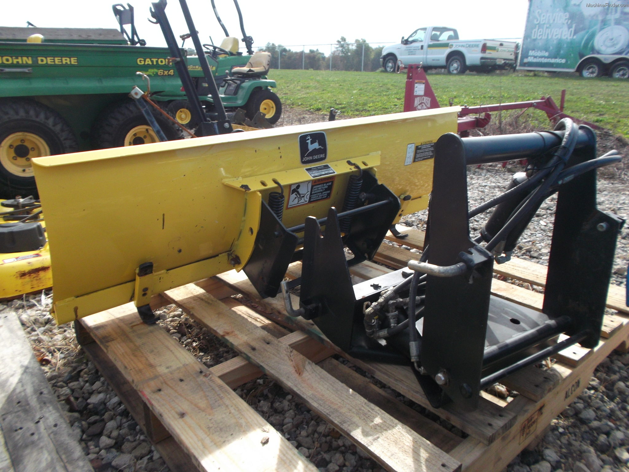 2002 John Deere 54-in. Quick-Hitch Front Blade Lawn ...