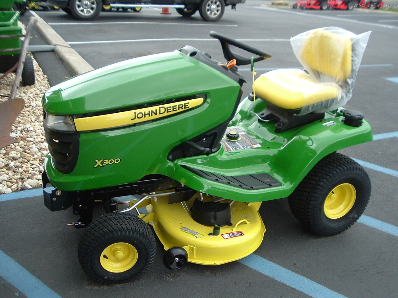 John Deere X300 Lawn & Garden and Commercial Mowing - John ...