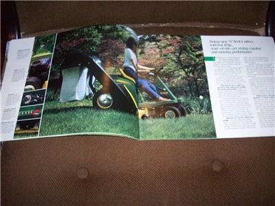 1983 John Deere 108 111 111H 116 116H Lawn Tractor S80 S82 ...