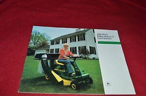 John Deere 108 111 116 Lawn Tractor R70 R72 S80 Ride Mower ...