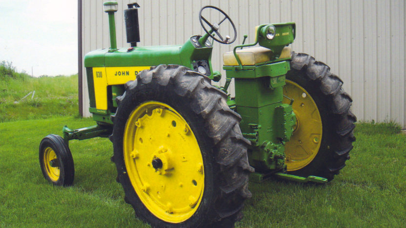 1960 John Deere 630 Tractor | S80 | Walworth 2010