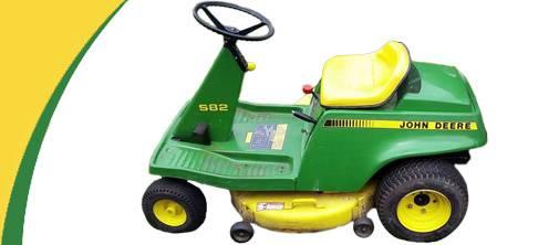 John Deere S82 Lawn Mower Parts