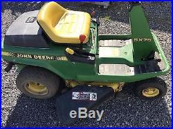 Low Cost Lawnmowers » Blog Archive » John Deere Sx75 Lawn ...