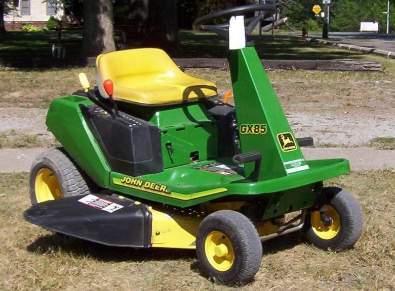 John Deere GX85/SX85 Tractor Specs